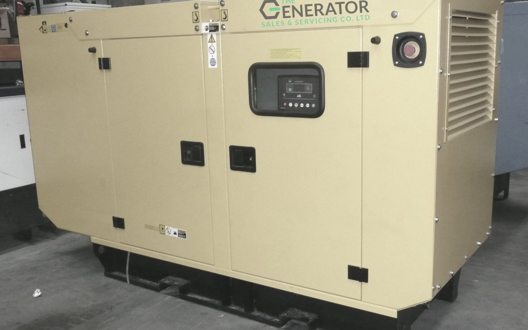 Limited stock for this 100kva Cummins Generator. £8,750 only