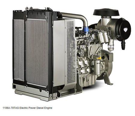 Perkins Diesel Generator 200KVA