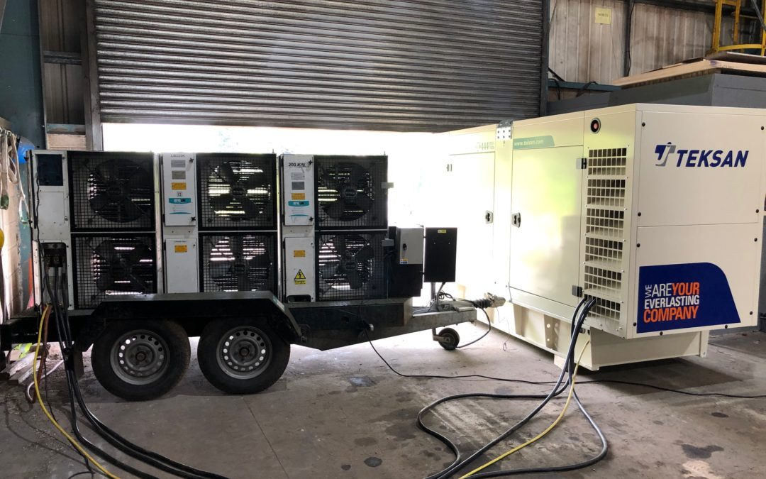 Standby Generator Load Bank Test