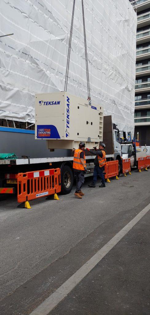 Teksan Standby Generator Delivey London