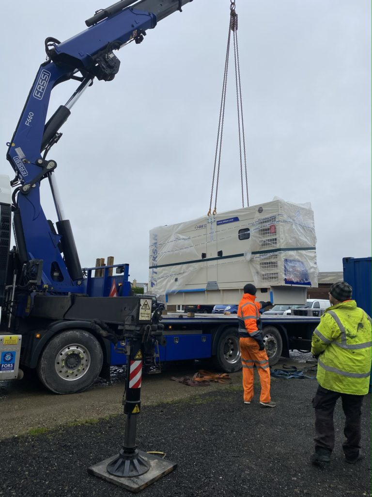Doosan Generator Delivery Cornwall
